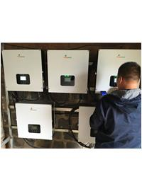 Thinkpower provide 3 phase inverters for 100kW solar on grid system